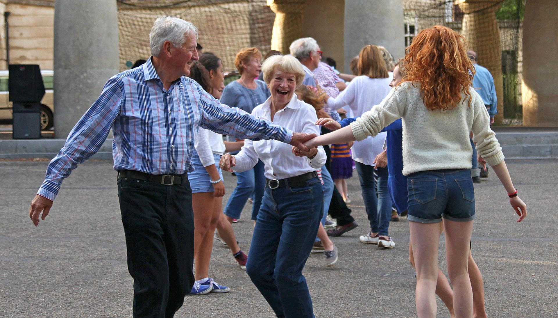 Square dance in Poundbury