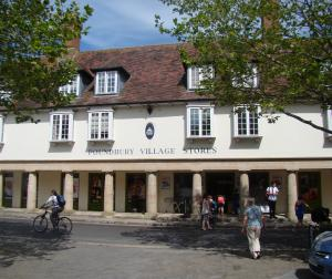 Poundbury Village Stores is at the heart of Pummery Square in Phase 1