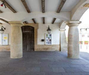 The undercroft of The Brownsword Hall