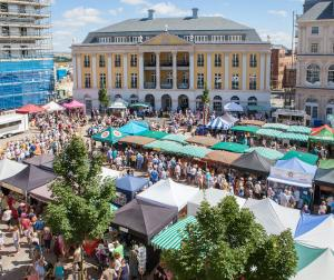 The Dorset Food Festival is an annual food festival in Queen Mother Square each August