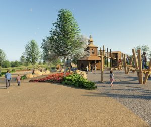 Play equipment coming later in 2021
